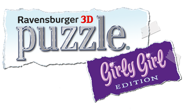 Ravensburger 3D Puzzle Girly Girl Logo