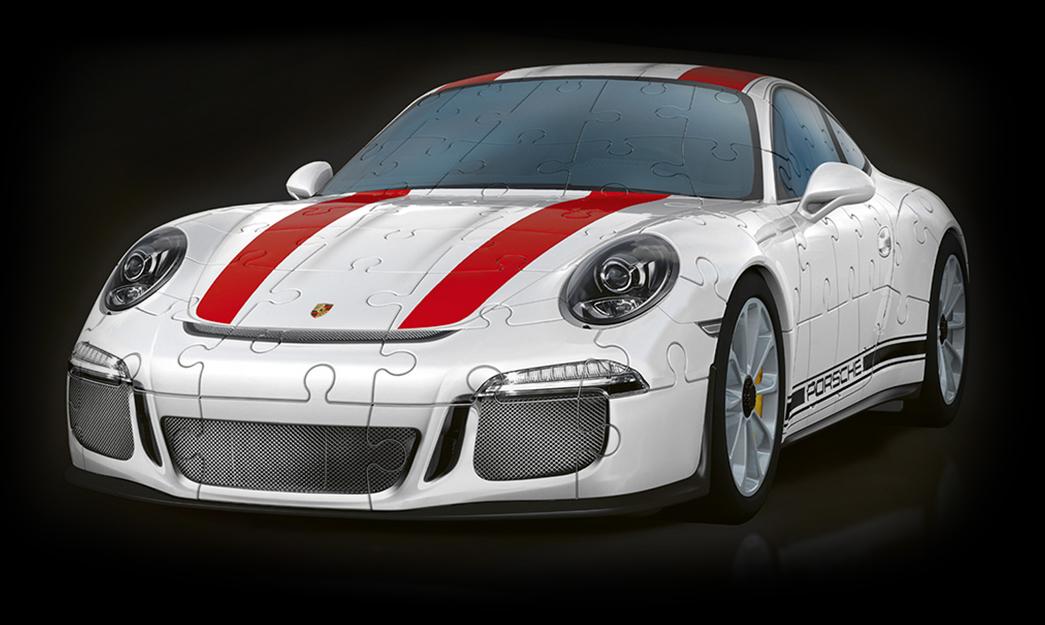 540dc987f 3D Puzzle Porsche 911 R von Ravensburger