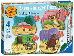 The Gruffalo Four Shaped Puzzles Childrens