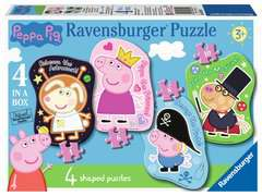 Ravensburger 60pc Peppa Pig Tell The Time Clock Puzzle 09510